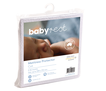 Anstel Babyrest Waterproof Large Cot Mattress Protector