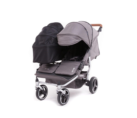 Baby Monsters Easy Twin 3.0 Texas Silver plus Main Carrycot
