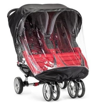 Baby Jogger City Mini And Gt Double Rain Canopy