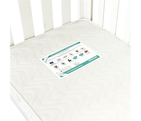 Babyhood My First Breathe Eze Innerspring Mattress 1295 x 690