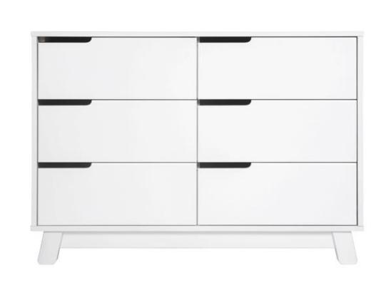 Babyletto Hudson 6 Drawer Dresser White