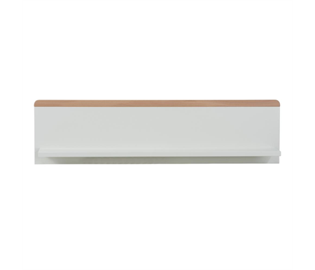 Babyrest Poppy Wall Shelf - White Beech