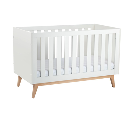 Babyrest Tommi Cot - White