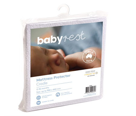 Babyrest Waterproof Cradle Mattress Protector