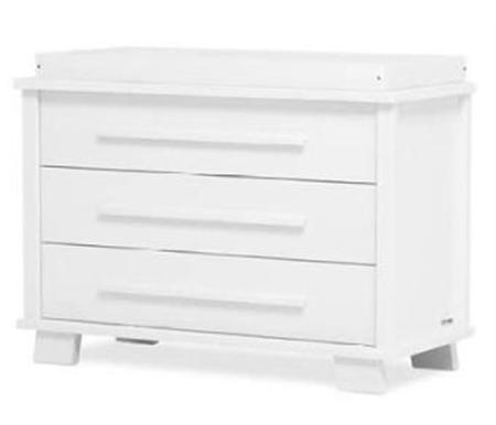 white 3 drawer chest. White 3 Drawer Chest E