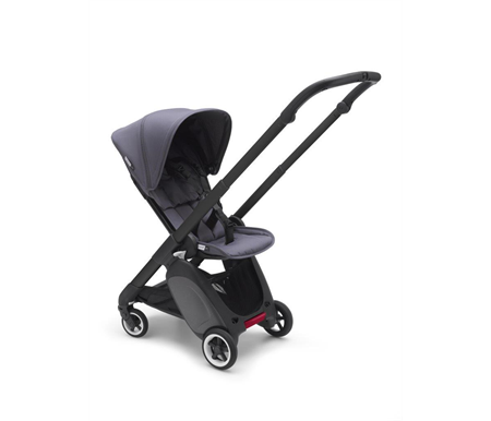Bugaboo Ant Complete Black Frame Steel Blue Style Set