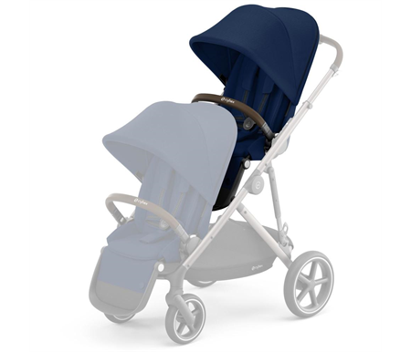 Cybex Gazelle S Second Seat - Taupe/Navy Blue
