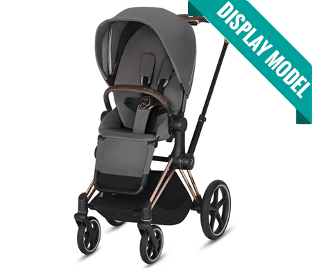 Cybex Priam 2019 Rose Gold Complete with Premium Black Seat Fabric