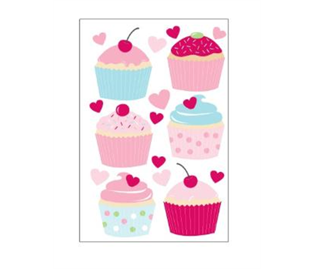 Forwalls Wall Decal Sweet Cupcakes