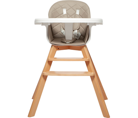 Grotime Birch High-Low Chair - Desert Grey
