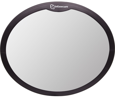 Infa Secure Large Round Mirror