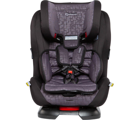 Infa Secure Luxi II Element Convertible Car Seat 0-8 years - Grey