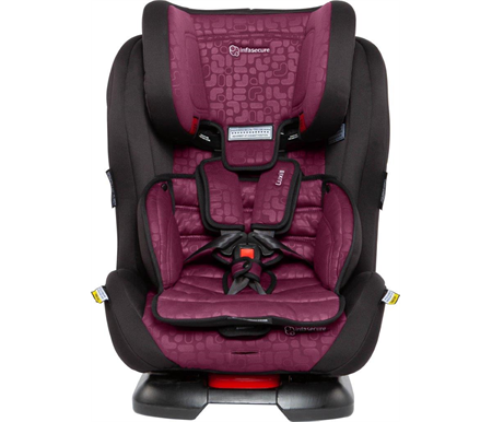 Infa Secure Luxi II Element Convertible Car Seat 0-8 years - Rose