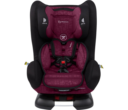 Infa Secure Quattro Element Convertible Car Seat - Rose