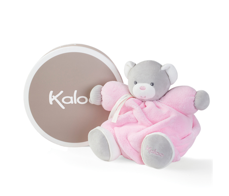 Kaloo Plume Medium Bear Pink