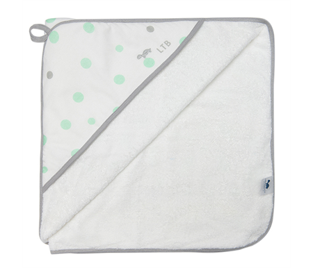 Little Turtle Baby Hooded Towel