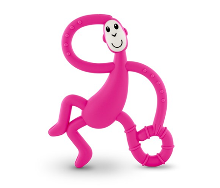 Matchstick Dancing Monkey Teether and Gel Applicator
