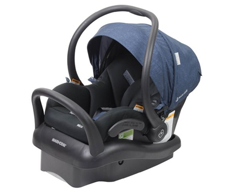Maxi Cosi Mico Plus With Iso Nomad Blue Black