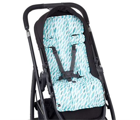 Outlook Water Collection Teal Drops Pram Liner