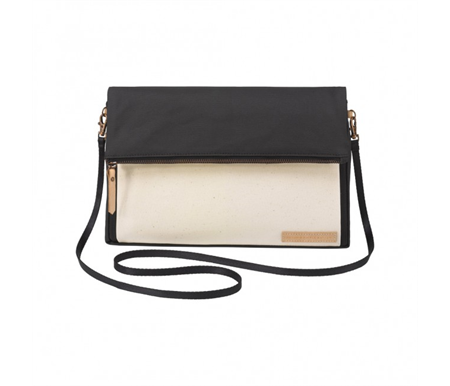 Petunia Pickle Bottom Crossover Clutch Birch/Black