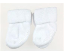 5865c117a73 Playette 2 Pack Bootie Socks 3-6 months White