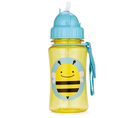 Skip Hop Bee Zoo Straw Bottle