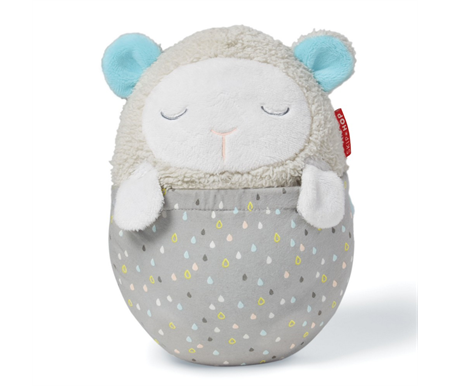 Skip Hop Moonlight & Melodies Hug Me Projection Soother - Lamb