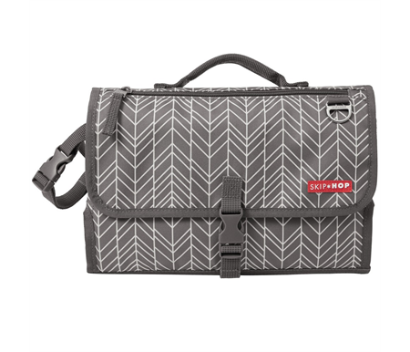 Skip Hop Pronto Mini Changer Grey Feather