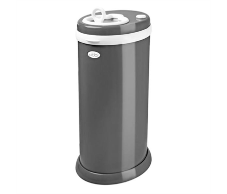 Ubbi Diaper Pail - Slate Dark Grey