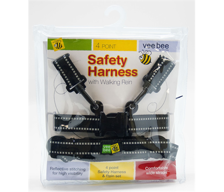 Vee Bee Baby Harness and Rein 4 Point Set