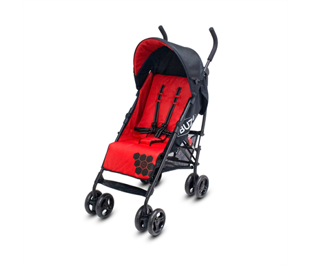 Veebee Buz Stroller - Raspberry Red