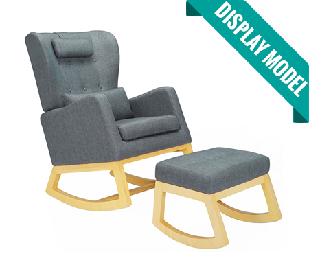 iL Tutto Mimmie  Rocker Chair With Ottoman