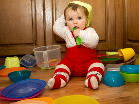 The Safety Steps - A Simple Guide to Baby Proofing Your Home