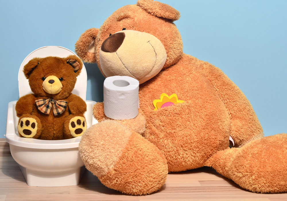 toy-teddy-bear-sitting-on-toilet